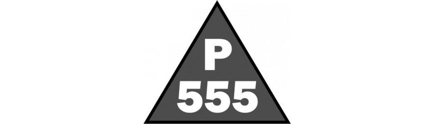 Příhradové stožáry rozteč 555mm trojůhelníkové s přírubami