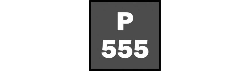 Příhradové stožáry rozteč 555mm čtvercové s přírubami