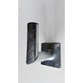 Držák na zeď 20cm pr. 60 s plotnou - žárový zinek