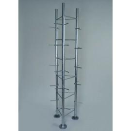 Základna pro příhradové stožáry silnostěnná - 2m