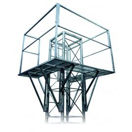 Ochoz - lávka pro příhradový stožár čtyřboký