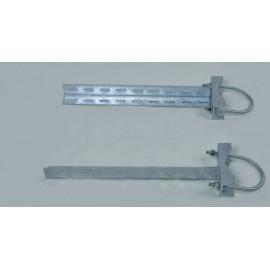 Držák racku nebo rozvaděče 80cm - PROFI - sada