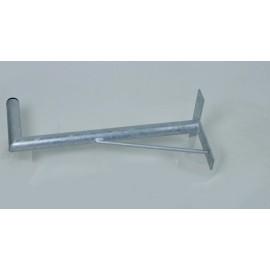 Držák na zeď 60 cm - žárový zinek + vzpěra