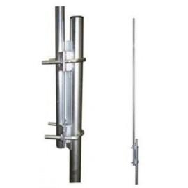 Nástavec stožáru 2m s 2vinkly pr. 35mm - žárový zinek