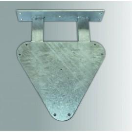 Držák příhradového stožáru spodní díl 20cm
