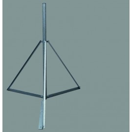 Trojnožka 2m - PROFI lite - žárový zinek - pr.76