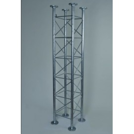 AKCE - Příhradový stožár čtyřboký , délka 2m, stojny pr.42mm