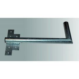 Držák antény s pásem na okno 50cm - levý - žárový zinek