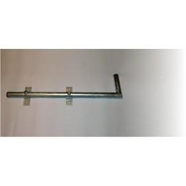 Konzola 90cm boční balkónová - žárový zinek
