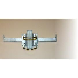 Stupačka na stožár pr. 90mm oboustranná - žárový zinek