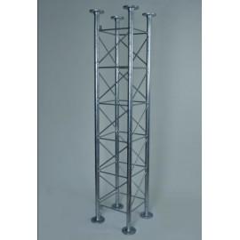 AKCE - Příhradový stožár čtyřboký , délka 2m, stojny pr.48mm