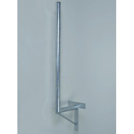 Držák antény 35/120cm se vzpěrou - žárový zinek