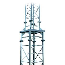 Redukce na příhradový stožár 4 boký