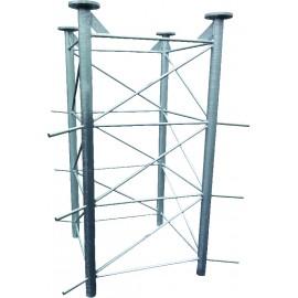 Základna pro příhradové stožáry čtyřboké PROFI MAXI 2m