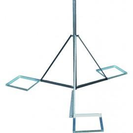 Trojnožka 2m - PROFI lite  s dlaždicemi - žárový zinek - pr.76