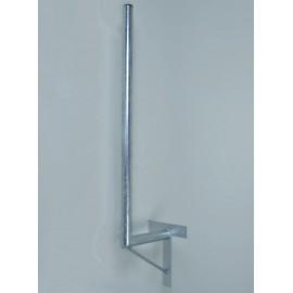 Držák antény 25/100cm se vzpěrou - žárový zinek