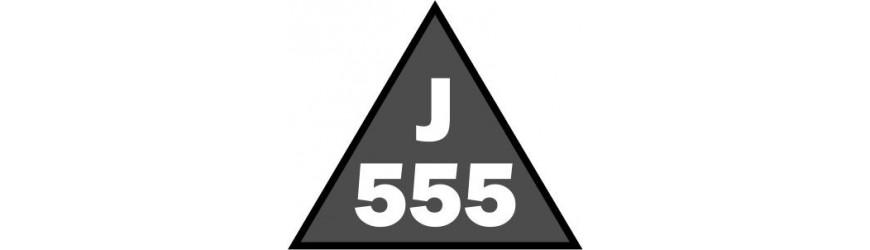 Příhradové stožáry rozteč 555mm trojůhelníkové spojené jekly a trubkami