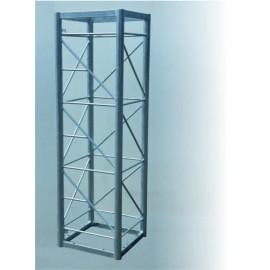 Příhradový stožár PROFI + čtyřboký, délka 2m pr. 60/8mm