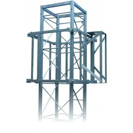 Vyvážecí vozík na příhradový stožár PROFI+ čtyřboký