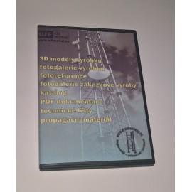 CD s katalogem, výkresy, fotografiemi