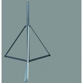 Trojnožka 2 m - PROFI Lite - žárový zinek - pr.89