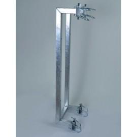 Držák příhradového stožáru boční dvojitý odsazení 20cm