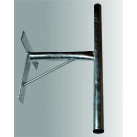 Držák na zeď T 35/60cm - žárový zinek