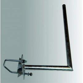 Držák síta na stožár - žárový zinek