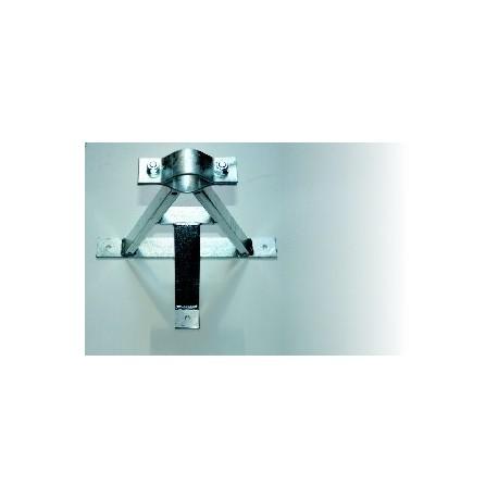 Držák stožáru pr. 40-67mm odsazený 250mm - žárový zinek