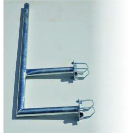 F konzola na stožár pr. 60mm výška 150cm