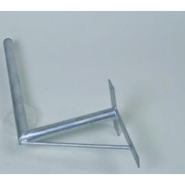 Držák antény 35/60cm se vzpěrou - žárový zinek