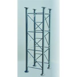 Příhradový stožár čtyřboký  PROFI, délka 2m, stojny pr.60mm