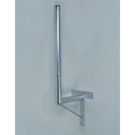 Držák antény 45/120cm se vzpěrou - žárový zinek